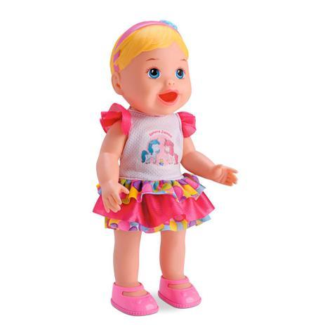 8a2ccebf55 Boneca My Little Collection Come e Faz Caquinha Divertoys - Diver toys