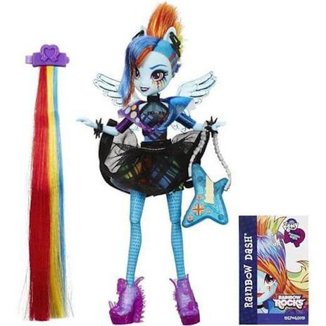 Imagem de Boneca My Little Pony Equestria Girls Cabelos Estilosos B1036 - Hasbro