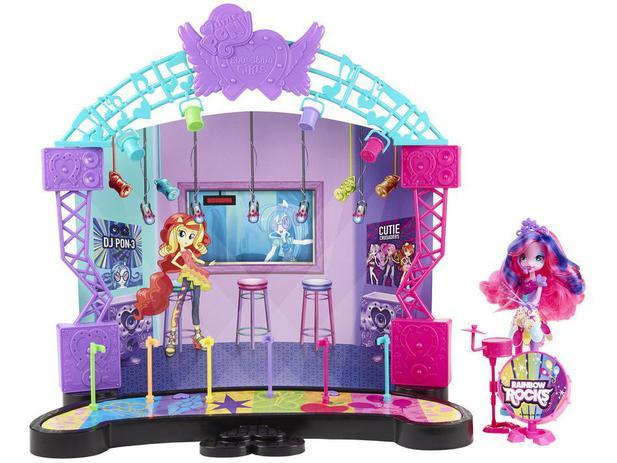 Boneca Palco Pop My Little Pony Equestria Girls - Hasbro