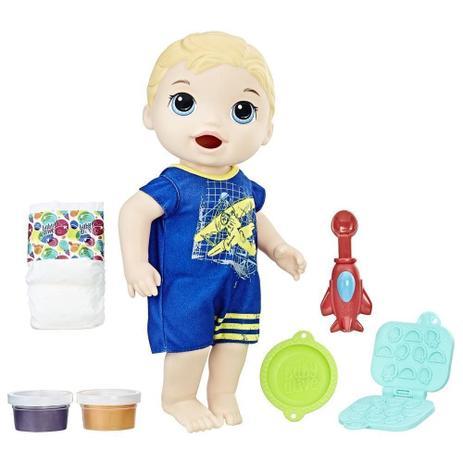 89cf55e96f Boneco Baby Alive Meu Primeiro Filho Loiro - C1883 - Hasbro ...