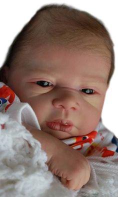 Imagem de Boneco bebê Reborn Pedro molde importado autentico