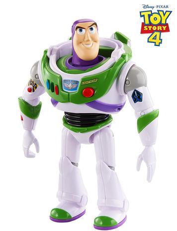 Boneco Buzz Lightyear 23cm Sons E Frases Toy Story 4 Gfl90 Mattel