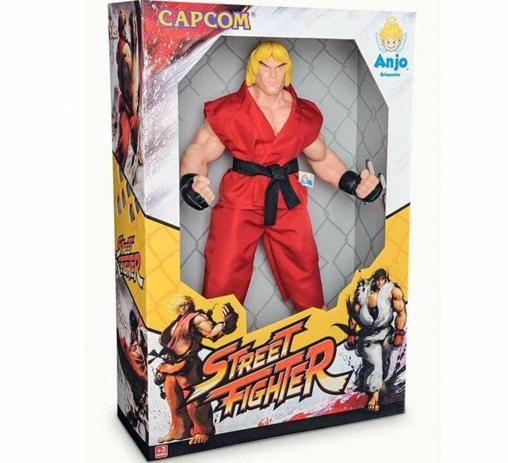 Imagem de Boneco -  Capcom - Street Fighter - 45 Centimetros - Ken ANJO