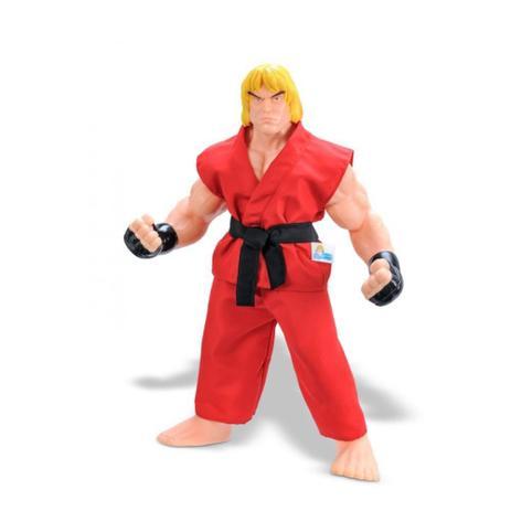 Imagem de Boneco Coleção Street Fighter Ken Capcom - 48cm