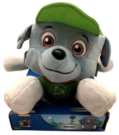 Boneco De Pelucia Cachorro Rocky Azul Patrulha Canina Sunny