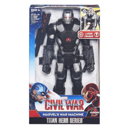Imagem de Boneco Eletrônico - Titan Hero - Marvel - Capitão América Gu fb0c5fc44a7
