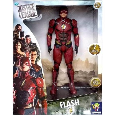 Imagem de Boneco Flash Gigante Premium Liga Da Justiça 0923 - Mimo