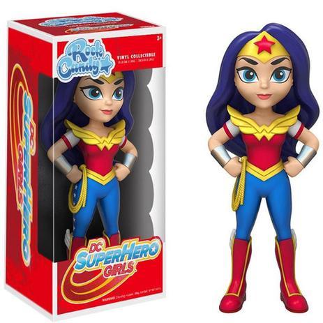 e623ec029e656b Boneco funko rock candy dc super hero - wonder woman / mulher maravilha