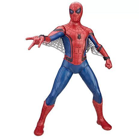 Imagem de Boneco Homem Aranha 38cm Eletrônico - Hasbro