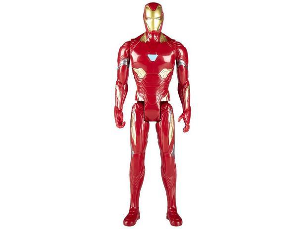 Boneco Homem de Ferro Marvel Titan Hero Series - Avengers Infinity War 30cm Hasbro