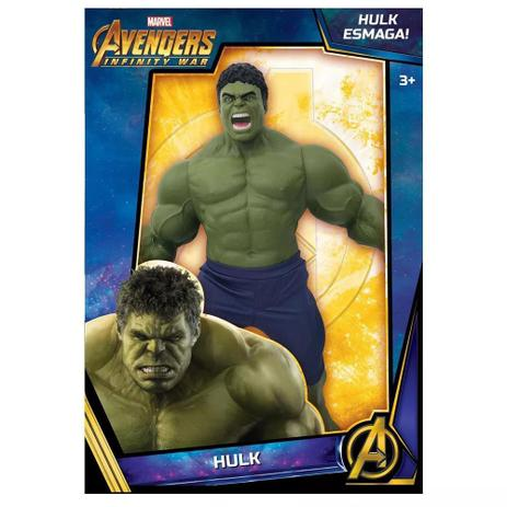 188368859c87b Boneco - Hulk - Guerra Infinita - Marvel - Disney - Mimo - Bonecos ...