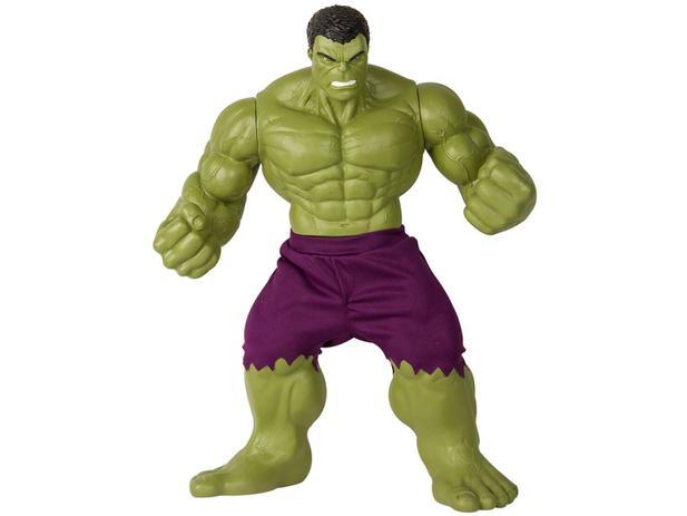 Boneco Hulk Marvel Avengers - 55cm Mimo