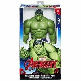 Imagem de Boneco Hulk Titan Hero Marvel Avengers Hasbro Original 30 Cm