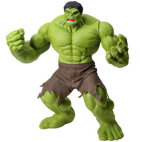 Boneco Hulk Verde Premium 55 Cm Marvel Gigante Mimo - Bonecos ... e80395e0c87
