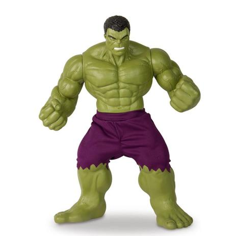 58f28ce6ef9a7 Boneco Hulk Verde Revolution 45cm Marvel - Mimo - Bonecos - Magazine ...