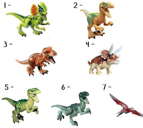 Imagem de Boneco Lego Dinossauros Jurassic World Park Minifigures