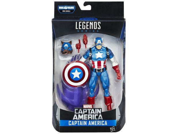 Boneco Marvel Legends Captain America - Hasbro