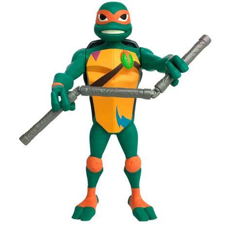Boneco Tartaruga Ninja 25 Cm Michelangelo Sunny Bonecos