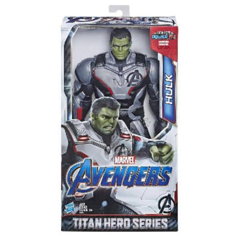 Imagem de Boneco Titan Hero Marvel Deluxe Hulk 2.0 Avengers Hasbro