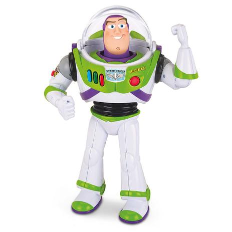 Boneco Toy Story Buzz Lightyear 20 Frases Toyng