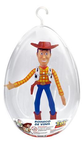 Imagem de Boneco Woody Toy Story no Ovo Páscoa Médio Líder