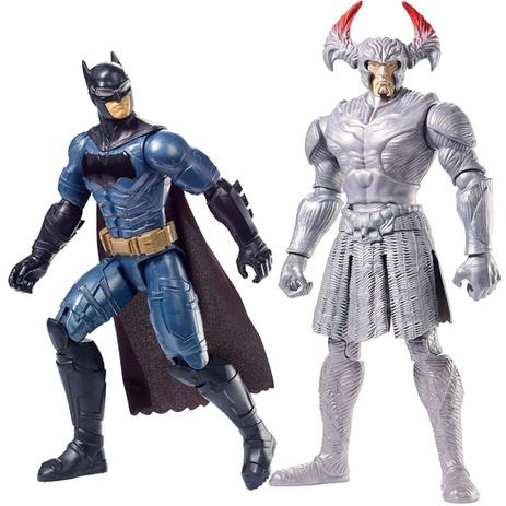 Bonecos Liga da Justiça STEPPENWOLF VS BATMAN 30 cm Mattel FGG85 ... b64ddac8b4a