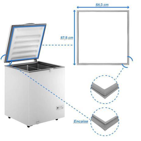Imagem de Borracha Gaxeta Freezer Consul CHA22EB CHB53EB