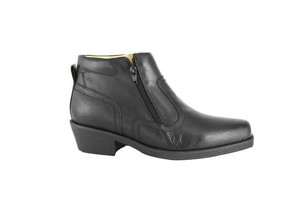 8b9fe30f7a Bota Conforto Hb Agabe Boots - 403.000 - Pl Preto - Solado de Borracha PVC  - Hb - agabê boots