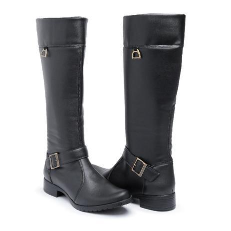 6182f15f93 Bota Feminina Babu Shoes Montaria Cano Alto Country Zíper - Bota ...