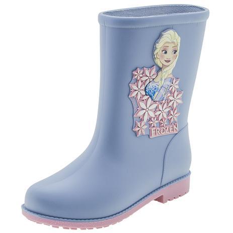 4d45cfcb7b Bota Infantil Feminina Frozen Fashion Grendene Kids - 21753 AZUL/ROSA AZUL /ROSA