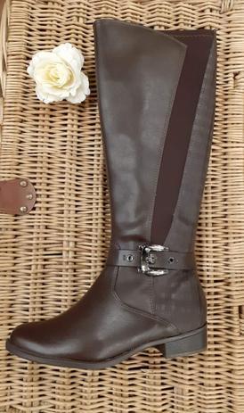 Imagem de Bota ramarim feminina com elastico cano longo