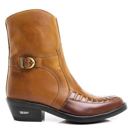 2123c2a25f Bota Texana Hb Agabe Boots 100.004 - Lt India+havana - Sola de Borracha -  Hb - agabê boots