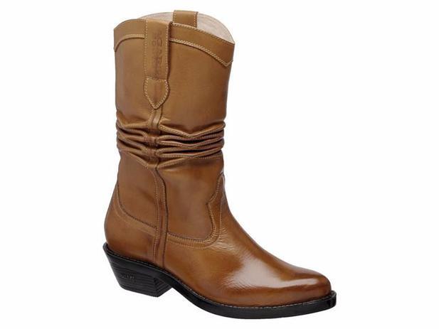 ee958bd0d7 Bota Texana Hb Agabe Boots 200.000 - Lt Havana - Solado de Borracha - Hb - agabê  boots