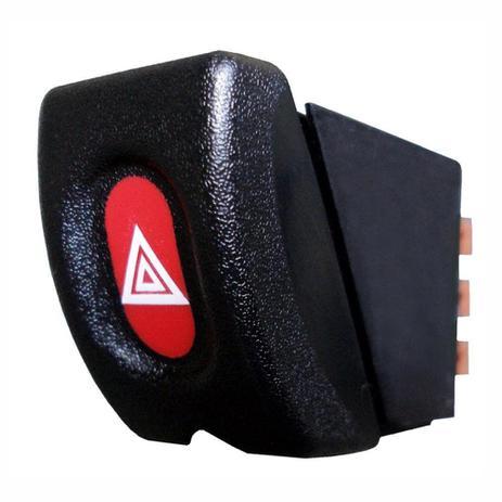 Imagem de Botão de Emergência Pisca Alerta - GM 12V Corsa - DNI 2184