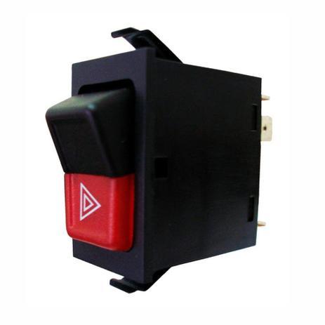 Imagem de Botão de Emergência Pisca Alerta - VW 161953235A - 161953235B - 2BC95235 - ZBC953235 - DNI 2105
