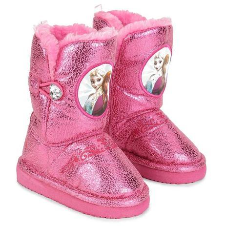 378010291df5ea Botinha Pantufa Frozen Glam 21-22 Pink RICSEN 20217