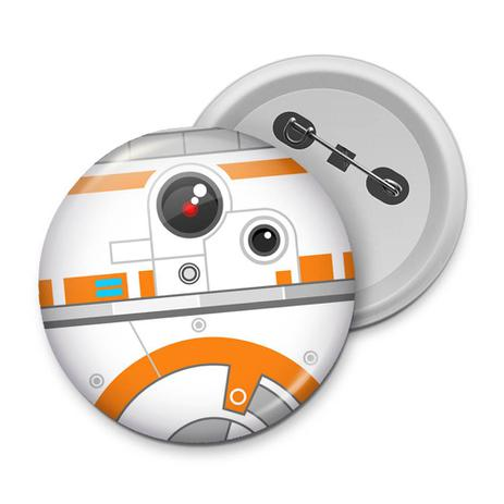 botton geek side faces bb 8 yaay action figures colecionáveis