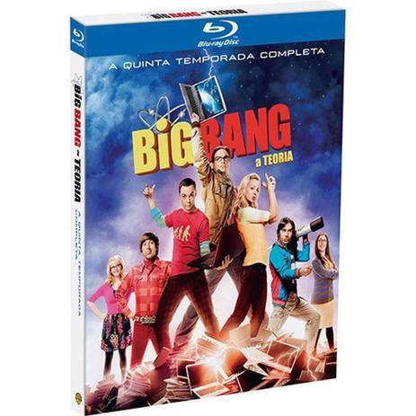 Imagem de Box Blu-ray Big Bang: A Teoria - A Quinta Temporada Completa (3 Discos)