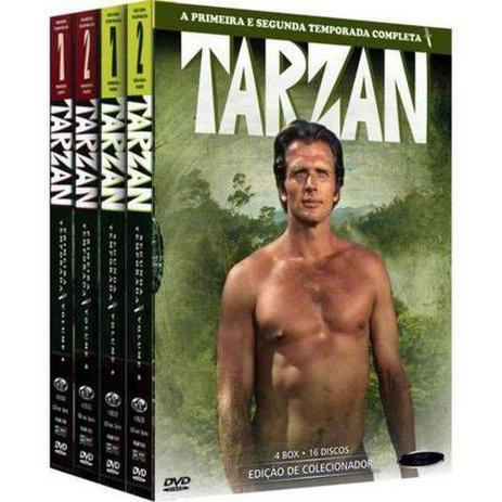 Imagem de Box DVD Tarzan Primeira e Segunda Temporada Completa