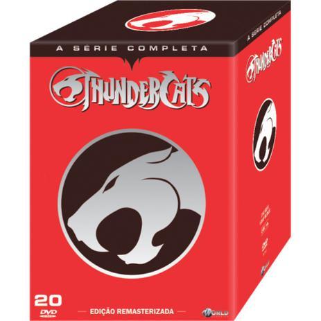 Imagem de Box DVD Thundercats a Série Completa - Original 20 discos