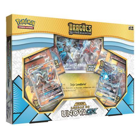 0b55456a66 Box Pokémon - Dragões Soberanos Lendas - Copag - Jogos de Cartas ...