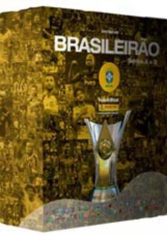 Imagem de Box Premium Álbum Campeonato Brasileiro 2020 - ( kit álbum capa dura + 50 envelopes)