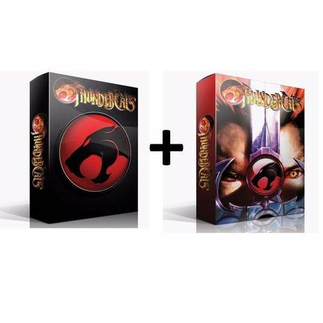 Imagem de Box Thundercats Primeira Temporada  8 DVDs 2 Boxes
