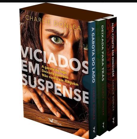 Imagem de Box Viciados em Suspense(3 volumes) A garota do lago,Deixada para trás, e Não confie em ninguém.