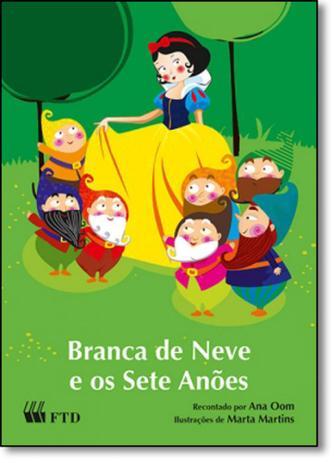 Branca De Neve E Os Sete Anoes Ftd No Magalu Magazine Luiza