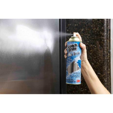 Brilha inox scotch-brite (3m) spray com 400ml - 3m - Produtos para ...