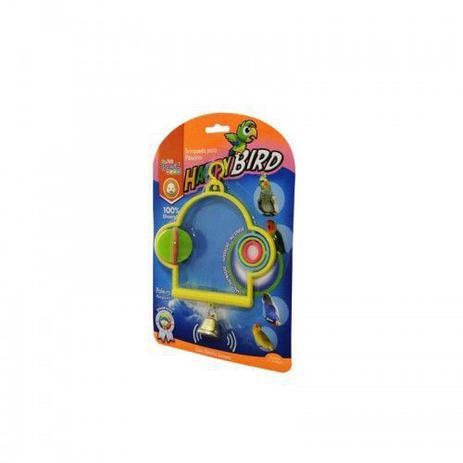 Imagem de Brinquedo Happy Bird Poleiro Playground 17cm para Pássaros.