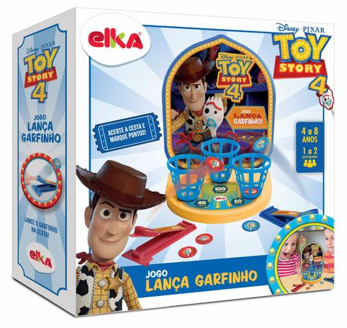 Brinquedo Jogo Lanca Garfinho Toy Story Elka Presente Para Crianca Outros Jogos Magazine Luiza