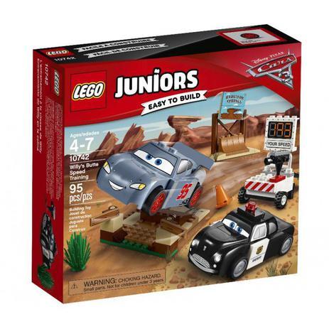 Imagem de Brinquedo Lego 10742 Juniors Carros 3 - Treino De Velocidade De Willy