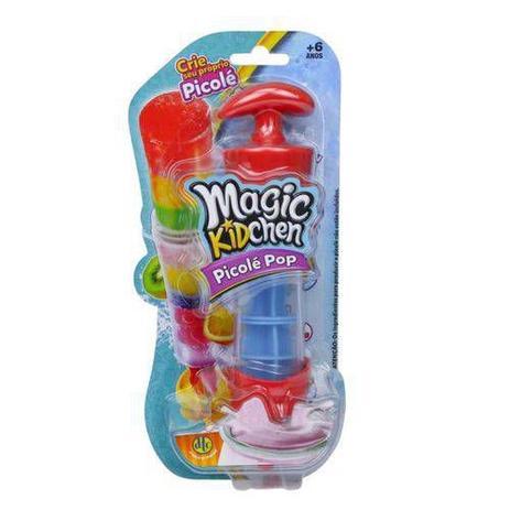 Imagem de Brinquedo Magic Kidchen Picolé Facil Pop Dtc Selo Inmetro